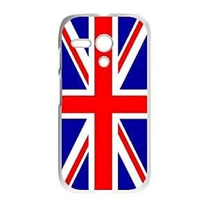 Motorola G Cell Phone Case White Grunge British Flag Customized Plastic Phone Case Cover XPDSUNTR00530