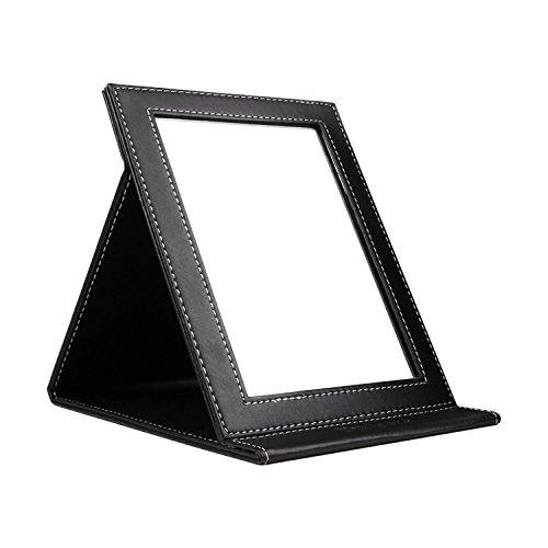 DUcare Portable Folding Vanity Mirror with Stand, Large (Desk Mirror)