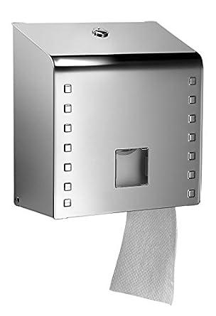 Qts Italy lss31//NSB inoxydable Midi Distributeur de papier toilette Jumbo brillant