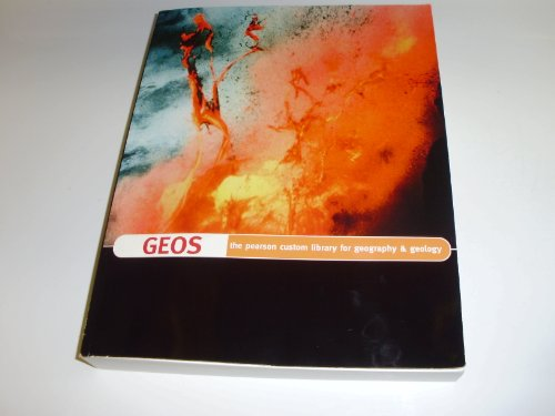 Geos the Pearson Custom Library for Geography and Geology
