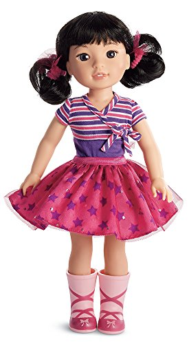 American Girl Wellie Wishers Emerson Doll 14.5 Wellie Wisher