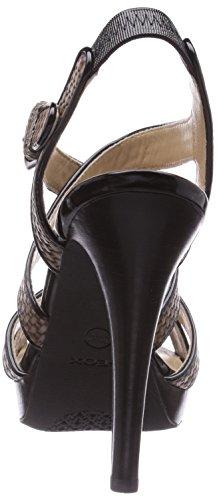 Grey D Geox Blackc1381 Trainer Beige Women's C Low Ivana Dove Beige Sand Top ZPRxPf