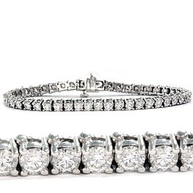 3.00CT Tennis Bracelet 14K White Gold