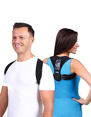 Back Posture Corrector for Men Women - Effective Posture Corrector Upper Back Straightener - Adjustable Posture Brace - Back Brace - Lightweight and Comfortable for Improving Posture by Selbite