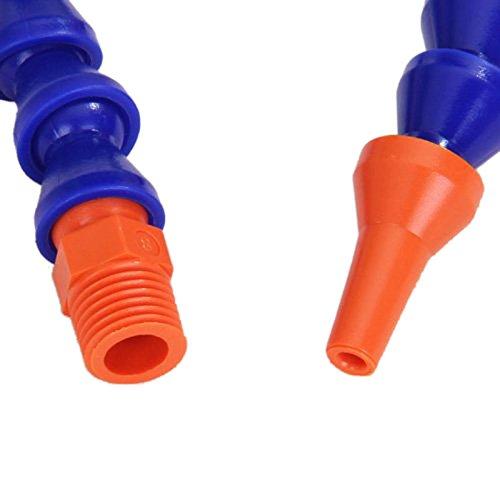 Adealink pcs plastic flexible water oil coolant pipe hose