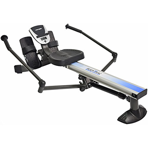 Stamina Products BodyTrac Glider 1060 Hydraulic Resistance Fitness Rower Machine, Blue