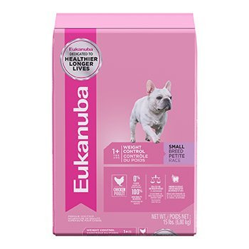 Eukanuba Small Breed Weight Control Adult Dog Food,Chicken, 15 - Control Breed Large Weight