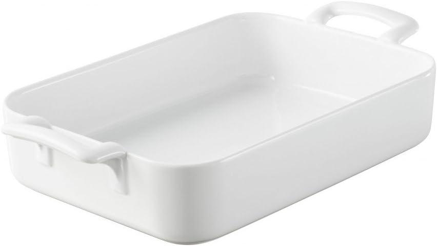 Revol 638195 BC0243 Rectangular Baking dish, 6.3 QT, White