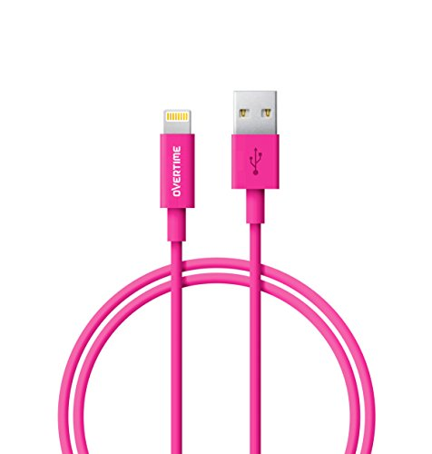 (Lightning to USB Cable 4 Ft - Apple MFi Certified, Rapid Charge and Data Sync Cable for, iPhone 7 6S 6 Plus, SE 5S 5, iPad Air 2 Pro, iPad Mini 2 3 4, iPad 4th Generation - Pink)