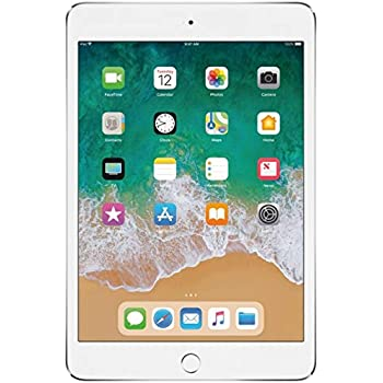 """Apple iPad Mini 4 Wi-Fi, 7.9"""" Retina Display with 2048 x 1536 Resolution, 7.9"""" Retina Display, A8 Chip, Touch ID, FaceTime, Apple Pay, Up to 10 Hours of Battery Life - 128GB - Gold"""