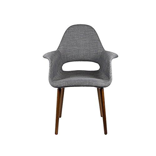 Tribeca Organic Arm Chair (Dark Grey, 1) For Sale