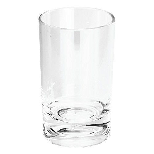 Vanity Cup (InterDesign Eva Tumbler Cup for Bathroom Vanity Countertops - Clear)