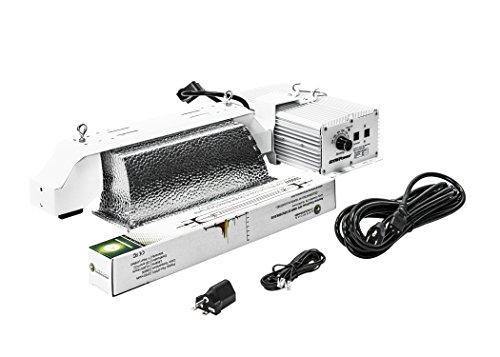 Pvd Kitchen - GrowPower HPS Grow Light 1000 Watt DE Pro, Works with Gavita EL1/EL2 Light Controller, High Reflective 95% PVD Aluminum, Electronic Ballast [240V-277V] (Grow Light Fixture with AGP-USA HPS 1000W Bulb)