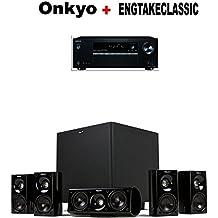 Onkyo Receiver (TX-SR383) + Klipsch HDT-600 Home Theater System Bundle