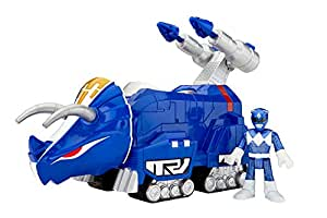Fisher-Price Imaginext Power Rangers Blue Ranger And Triceratops