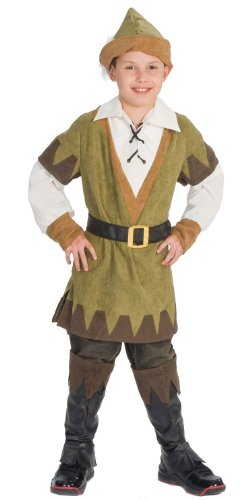 Kids Deluxe Sherwood Robin Hood Costume - Child -