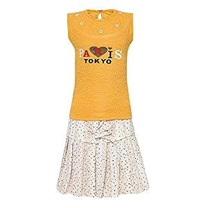 Aarika Girls' Knee-Long Dress