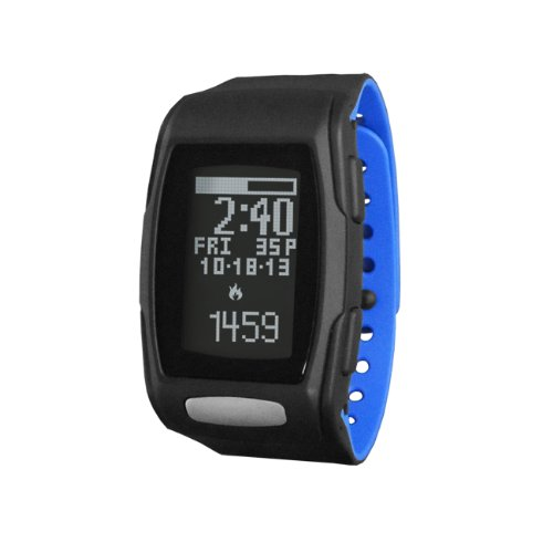 LifeTrak Zone C410 24-hour Heart Rate Watch, Black/Blizza...