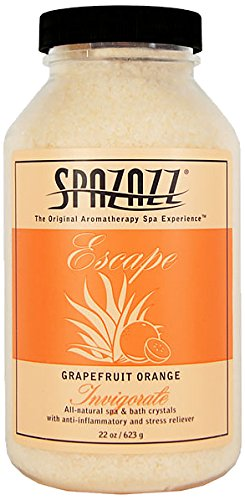 Spazazz 7380C Spa and Bath Crystals, Grapefruit -