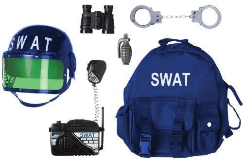 Gear to Go - SWAT Adventure Play Set (As Shown;One (Swat Gear Costume)
