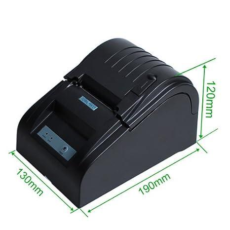 LEMNOI ZJ-5890T - Impresora Térmica de Recibos y Billetes (58MM ...