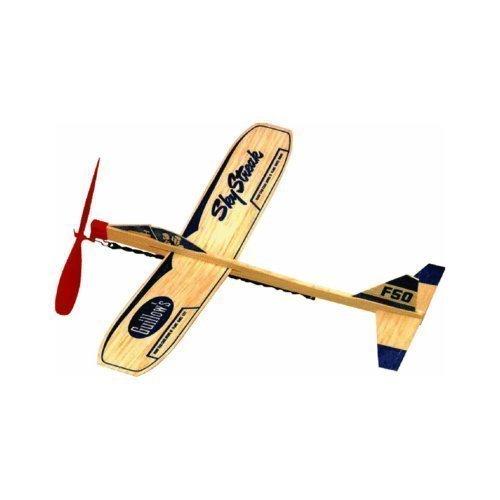Paul K Guillow 50 Sky Streak Balsa Wood Glider Plane (Pack of 24) Model: by Toys & Child