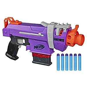 NERF-Fortnite-SMG-E-Blaster-Motorized-Dart-Blasting-6-Dart-Clip-6-Official-Elite-Darts-for-Youth-Teens-Adults