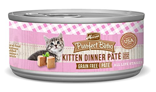 Merrick-Purrfect-Bistro-Grain-Free-55-oz-Kitten-Recipe-Pack-of-24