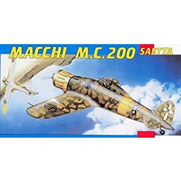 Amazon.com: Macchi MC200 Saetta italiano Fighter 1/48 SMER ...