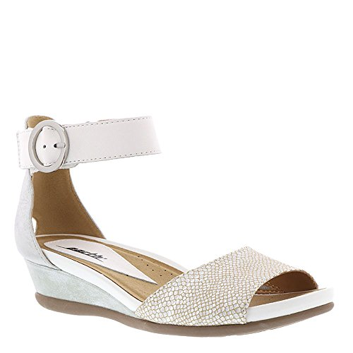 Earth Hera Womens Sandal 9 B M  Us Silver