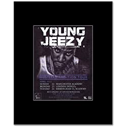 YOUNG JEEZY - Hustlerz Ambition Tour Mini Poster - 13.5x10cm