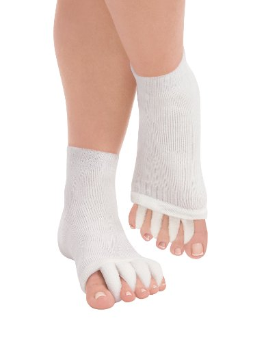 Dream Products Therapeutic Cozy Toes, Small/ Medium, White [Health and Beauty]