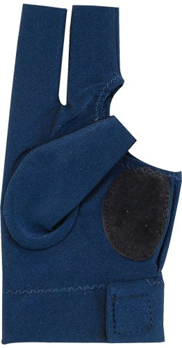Action Deluxe Billiard Glove, Blue, Small