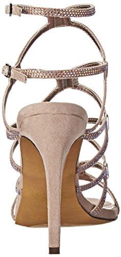 ... Betsey Johnson Kvinners Ritzyy Kjole Sandal Taupe Multi ...
