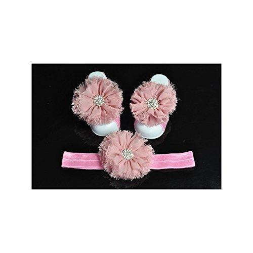 Conjunto de pies de apoyo cinta acompañará modelo Froufrou-Bandeja Vieux rose Talla:talla única rosa claro