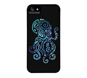 Octopus. iPhone 5/5s Black Barely There Phone Case - Design By Humans