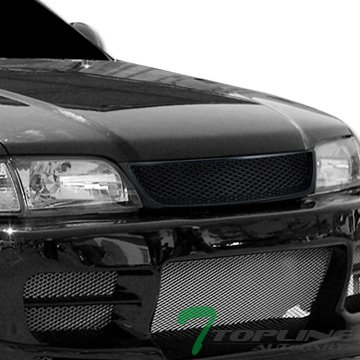 Black Badgeless Honeycomb Style Mesh Front Hood Grill Grille Toyota Tercel (Toyota Tercel Car compare prices)