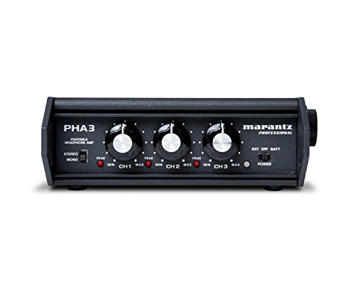 Marantz Preamps - Marantz Professional PHA-3 | Stereo Field Production Headphone Amplifier with XLR, 1/4