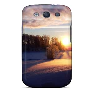 New Style JenniferLynn Snow Field Premium Tpu Cover Case For Galaxy S3