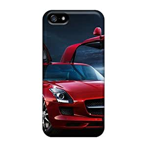 New Mercedes Sls Tpu Case Cover, Anti-scratch Charming YaYa Phone Case For Iphone 5/5s