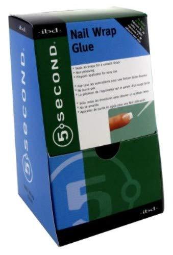 Ibd-5 Second Nail Wrap Glue (12 Pieces) by IBD