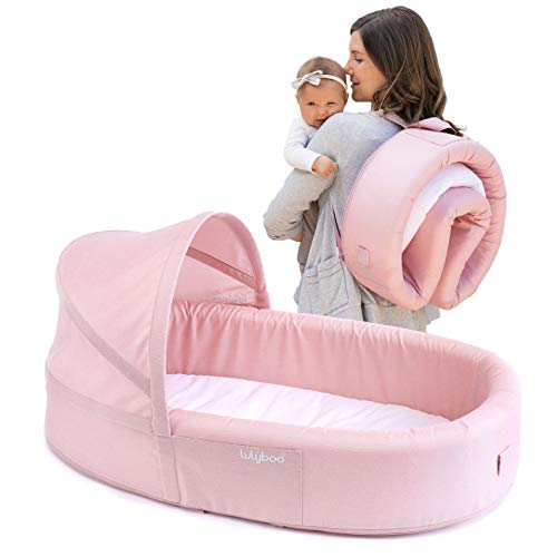 New Bassinet to-Go: Pink, Blue, Natural (Blush)