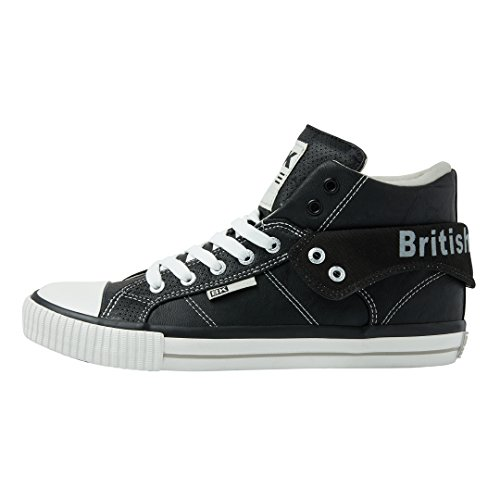 British top High Knights Grigio Uomo Da Sneaker Nero Roco qaHfwIq