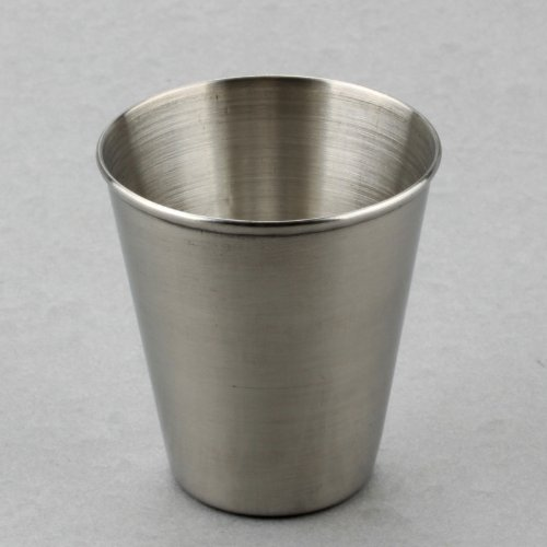 Ostart 70ml Portable Stainless Steel Shot Glasses Barware Wine Drinking Glass Cup (Metal Shot Glass)