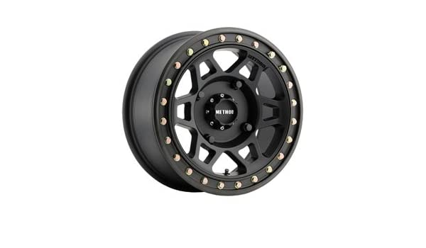 3.0 Matte Black for Textron WILDCAT XX 2018 4//156 Method Race Wheels 401 Beadlock Wheel 15x7 4.0