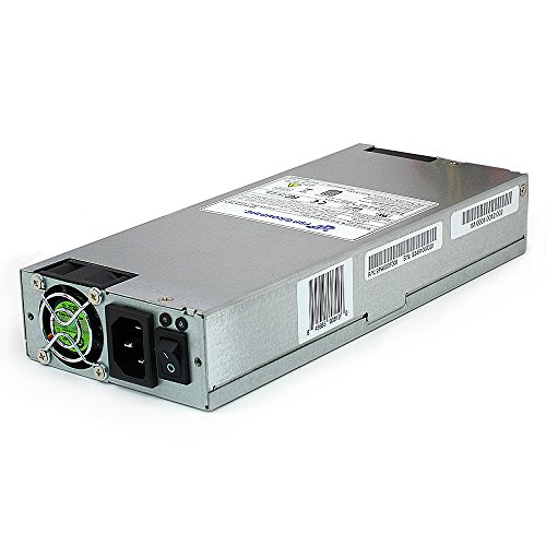 FSP Group 600W ATX Power Supply PMBus V1.2 Single 1U Size 80 PLUS Platinum Certified for Rack Mount Case (FSP600-80UEPB)