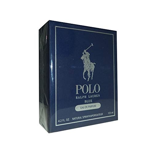 Ralph Lauren Polo Blue Eau De Parfum Spray for Men, 4.2 Ounce
