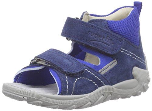 Superfit FLOW 600035 Baby Jungen Lauflernschuhe Sandalen Blau (WATER KOMBI 88)