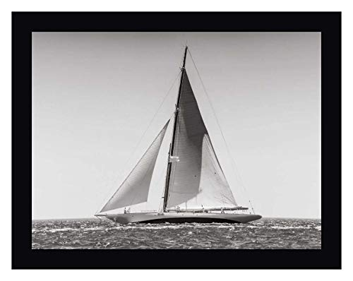 Classic Racing Sailboat by Anonymous - 15