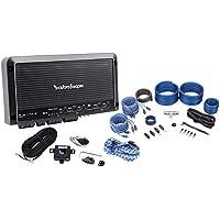Rockford Fosgate Prime R600X5 600W RMS 5-Channel Car Amplifier + Amp Kit + RCAs